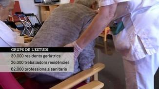 Imatge de:Un estudi constata la gran eficàcia de les vacunes entre els residents dels centres geriàtrics