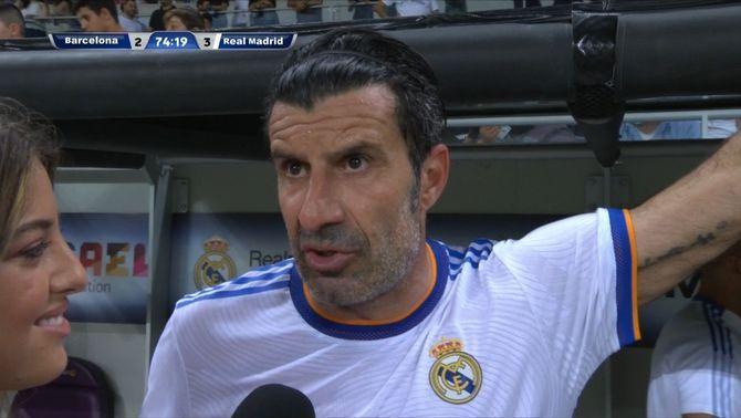 """Luis Figo: """"Florentino s'ha excusat amb mi i és un assumpte tancat"""""""