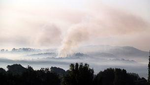 """L'incendi a la Conca de Barberà i l'Anoia afecta 1.295 hectàrees: """"La situació és crítica"""""""