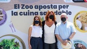 El Zoo de Barcelona inicia el seu pla de restauració saludable incidint en una alimentació sostenible i de proximitat