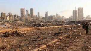 Un any després de l'explosió al port de Beirut, els precs de justicia conviuen amb la crisi del país