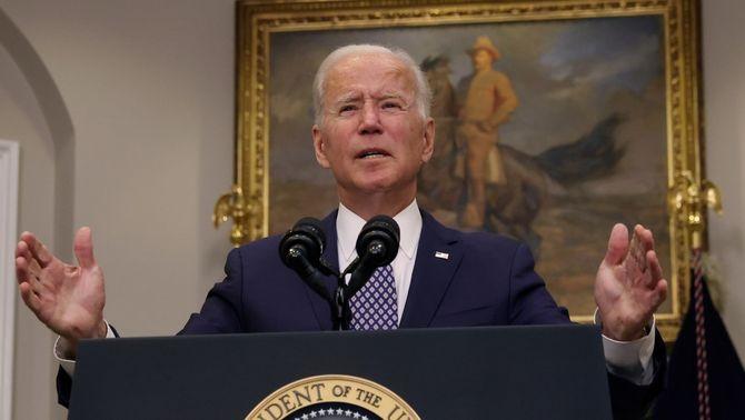 Biden cedeix i accepta el 31 d'agost com la data límit per sortir de l'Afganistan