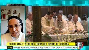 """Sor Lucía Caram, sobre l'exbisbe de Solsona: """"Estem davant d'una persona plena de contradiccions"""""""