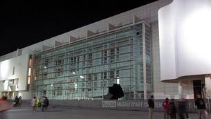 La façana del MACBA, un dels grans equipaments culturals que patirà la retallada.