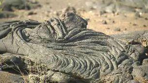 Pedra de lava a Hierro