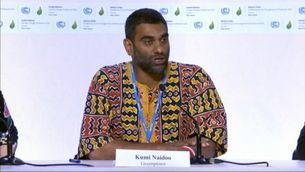 Kumi Naidoo, director executiu de Greenpeace