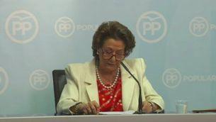 Rita Barberà diu que no dimiteix i que mai ha blanquejat ni desviat diners