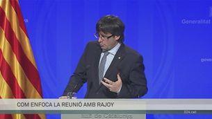 Declaracions Carles Puigdemont reunió Rajoy i relació Junqueras