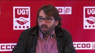 Els sindicats demanen una aliança d'esquerres