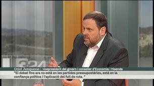 L'entrevista del diumenge, amb Oriol Junqueres