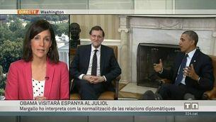Visita d'Obama a Espanya el mes de juliol
