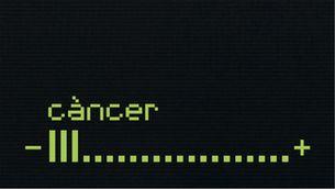 Imatge gràfica de La Marató 2004, dedicada al càncer