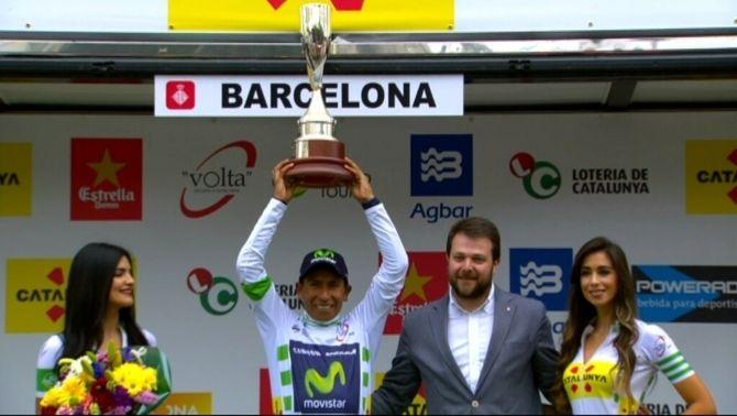 Nairo Quintana conquista la 96a Volta a Catalunya, seguit d'Alberto Contador i Daniel Martin