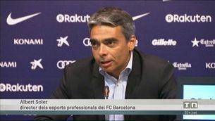 """Albert Soler: """"No podíem posar en risc el club"""""""
