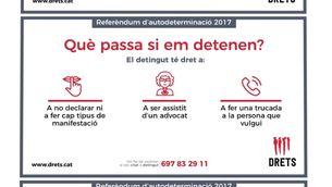 Captura de la pàgina web de Drets