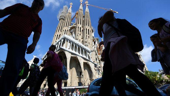 L'exterior de la Sagrada Família (Reuters)