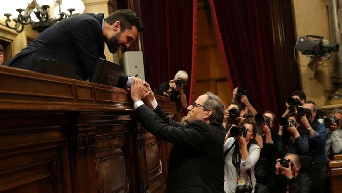 Quim Torra, 131è president de la Generalitat després de 199 dies sota el 155