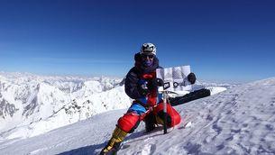 Mingote al cim el Broak Peak, en una imatge d'arxiu