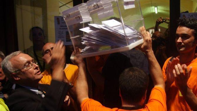 10 anys de la consulta sobiranista d'Arenys, on va començar el procés