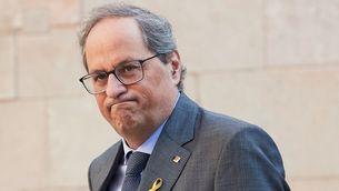 El president de la Generalitat, Quim Torra (EFE)
