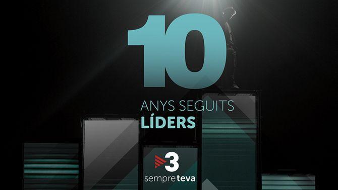 TV3 tanca el 2019 com a líder, amb el millor resultat des del 2010