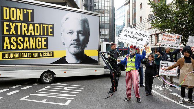Es reprèn el judici per l'extradició d'Assange als EUA: les claus del cas