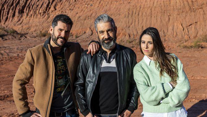 Roger de Gràcia, Candela Figueras i Ivan Medina són els presentadors de 'Batalla monumental'
