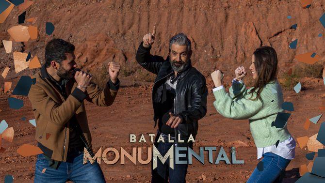 """Ivan Medina, Roger de Gràcia i Candela Figueras ho tenen tot preparat per a la final de """"Batalla monumental"""""""