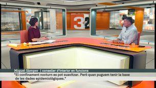 """Entrevista a Miquel Sàmper: """"És evident que quan comenci la restauració a nivell nocturn serà a l'exterior"""""""
