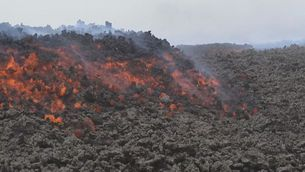 Continua actiu el volcà Pacaya