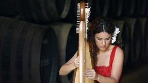 """Ana Crismán: """"L'arpa sona flamenca si qui la toca té l'esperit flamenc"""""""