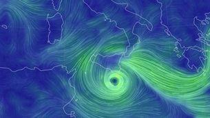 Un huracà mediterrani colpeja Sicília i provoca almenys un mort