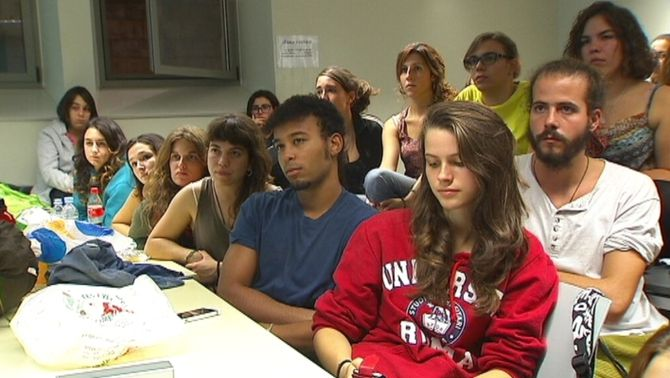Estudiants en una imatge d'arxiu.