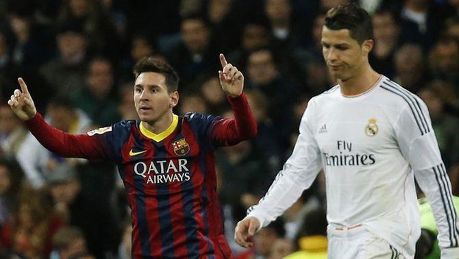 """Cristiano Ronaldo es refereix a Messi com """"el fill de puta"""" al vestidor del Reial Madrid, segons l'últim llibre de Guillem Balagué"""