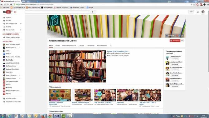 """Marta Botet és una """"booktuber"""" que recomana lectures des del blog """"Recomanacions de llibres"""""""
