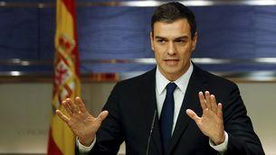 Sánchez diu que, primer, s'ha d'esperar si Mariano Rajoy aconsegueix sortir reelegit (Reuters)