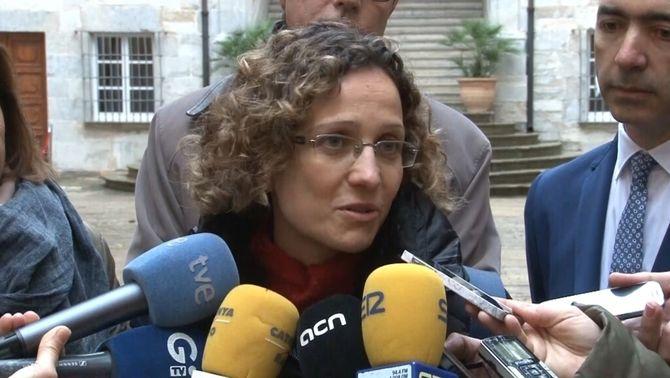 La consellera d'Ensenyament, Meritxell Ruiz, en una imatge d'arxiu