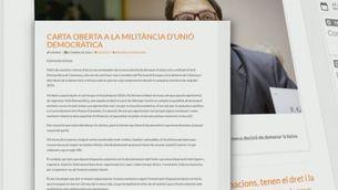 Unió perd Francesc Gambús, l'últim diputat, i CDC demana als democristians que reconeguin el deute de la liquidació de la Federació