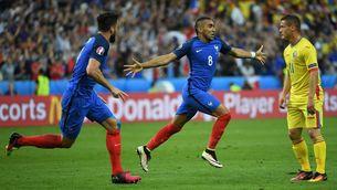 França inaugura l'Eurocopa amb victòria (2-1)