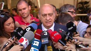 Jorge Fernández Díaz, en la compareixença per les filtracions de Público
