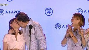 """Mariano Rajoy: """"Hem guanyat la batalla per Espanya i reclamem el dret a governar"""""""