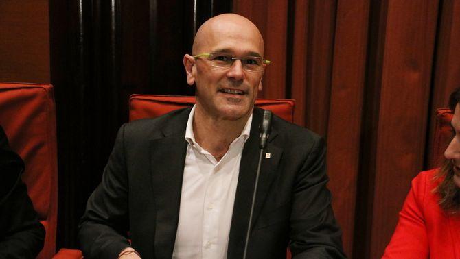 El conseller d'Afers Exteriors, Relacions Institucionals i Transparència, Raül Romeva (ACN)