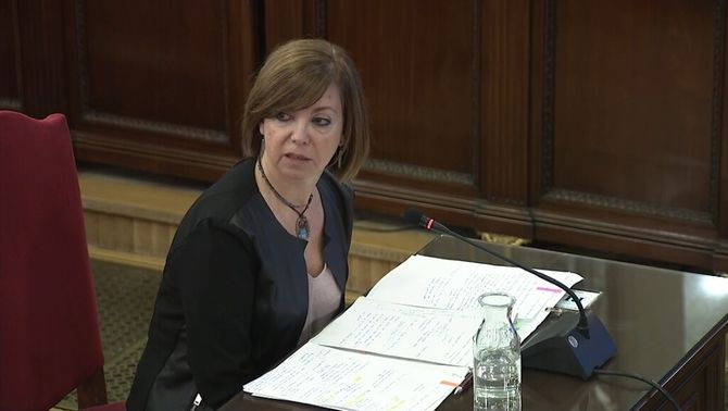 """Meritxell Borràs: """"No public funds were used for the referendum"""""""