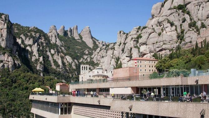 """""""Pròxima estació"""" puja a Montserrat amb un grup de persones cegues convocades per l'ONCE"""