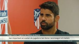 Diego Costa revela el somni d'Antoine Griezmann