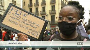 Manifestacions arreu del país recorden que a Catalunya també hi ha racisme