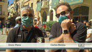 Vilafranca del Penedès, un Sant Fèlix l'endemà de les aglomeracions