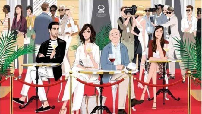 """Arriba als cinemes la nova pel·lícula de Woody Allen, """"Rifkin's Festival"""", amb participació de TV3"""
