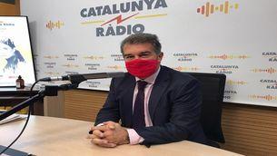 """Laporta: """"El Barça no s'acaba sense Messi"""""""
