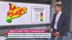 Planta baixa - Desconfinament per territoris: què passaria a la teva comarca?